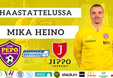 Haastattelussa Mika Heino