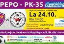 Lappeenrannan kaupunki Otteluisäntänä PEPO – PK-35 kärkikamppailussa la 24.10 klo 14.00 Sammonlahden tekonurmi!