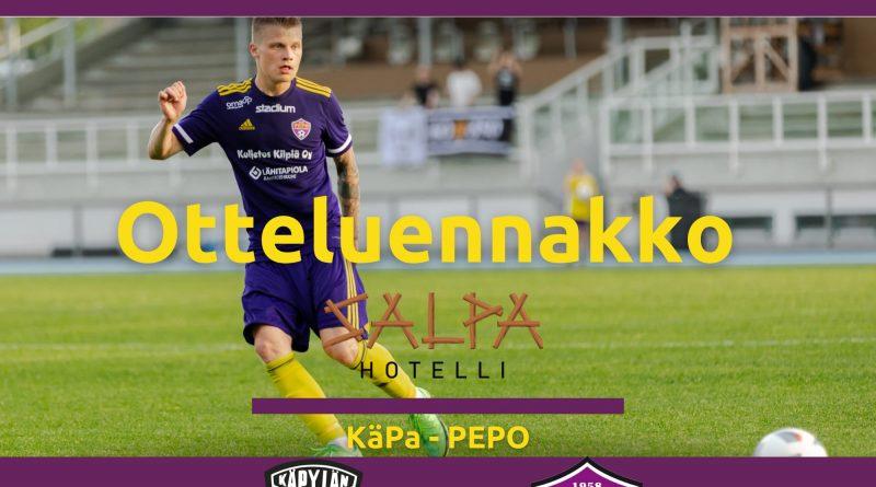 PEPO KäPan vieraaksi sunnuntaina