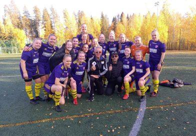 Kauden viimeinen peli KuPS/3-PEPO päättyi 2-4. Naiset nousevat KAKKOSEEN.