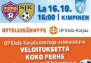 OP Etelä-Karjala Otteluisäntänä Kakkosen Suomen Cupin finaalissa la 16.10 klo 16.00 Kimpinen